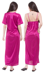 Load image into Gallery viewer, Aria Satin Nightdress and Robe