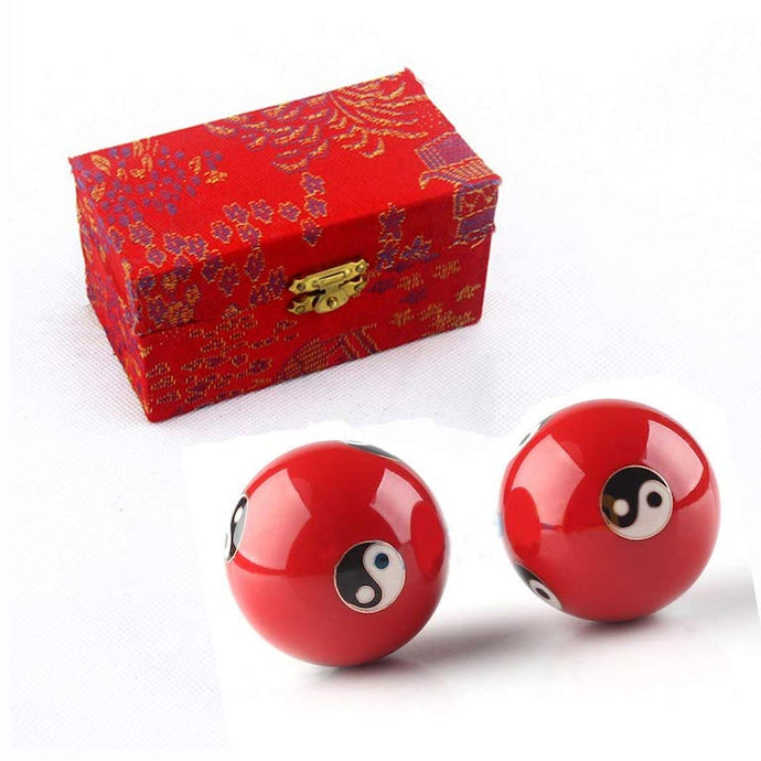 Feng Shui Health Exercise Stress Relief Balls Diameter: 4.8cm/1.9