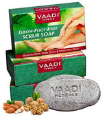 Load image into Gallery viewer, Vaadi Herbals Organic Elbow Foot Knee Scrub Soap bar Soap With Almond And Walnut [colour]- Hautie UK, #Nightfashion | #Underfashion