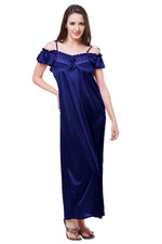 Load image into Gallery viewer, Sophia Vintage Satin Nightdress