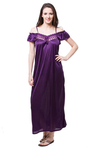 Sophia Vintage Satin Nightdress