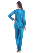 Load image into Gallery viewer, Natalie Satin Pajama Set PJS