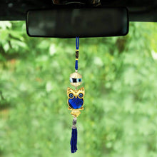 Load image into Gallery viewer, EVIL EYE WALL CAR HANGING GREEK OWL EVIL EYE PROTECTION [colour]- Hautie UK, #Nightfashion | #Underfashion