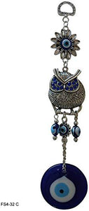 Handmade Peacock Evil Eye – Nazar Alloy Wall Hanging [colour]- Hautie UK, #Nightfashion | #Underfashion