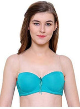 Load image into Gallery viewer, Push Up Padded Bra Strapless Multiway Transparent Clear Back Straps Bras [colour]- Hautie UK, #Nightfashion | #Underfashion