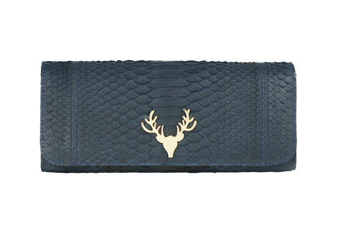 Harper Clutch Navy--FINAL SALE