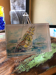 "Acrylblock ""Gorch Fock"""