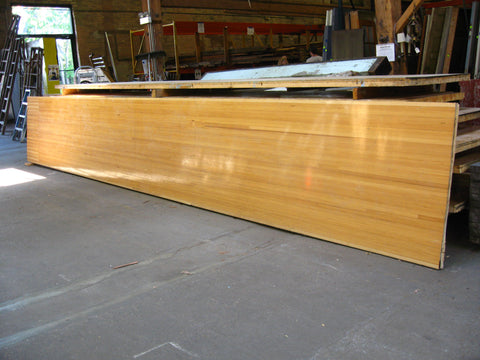 "Douglas Fir Bowling Lane Sections 20' x 42"" x 2 1/4"""