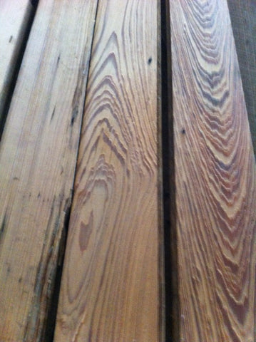 Reclaimed cypress wood available
