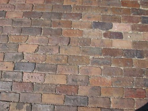 Reclaimed Barr Street Pavers (Bricks)
