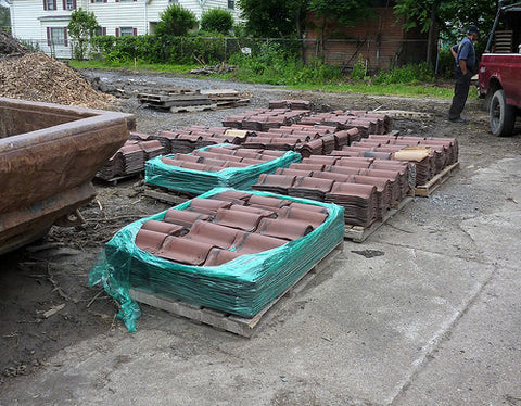 Reclaimed Clay Tiles