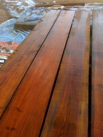Reclaimed Heart Pine Joists