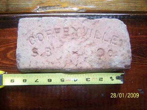 Coffeyville brick pavers