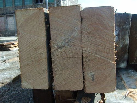 Premium Reclaimed Wide Heart Pine Timbers for Sale