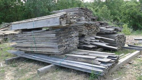 Reclaimed Weathered Grey Barn Lumber