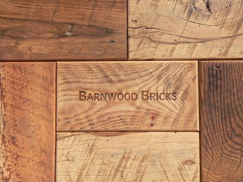 Barnwood Bricks Flooring - mixed species