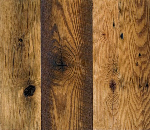 Reclaimed Oak - Distressed Wide Plank Flooring
