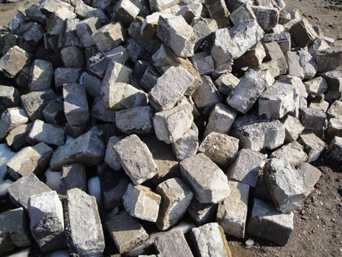 Reclaimed Granite Pavers