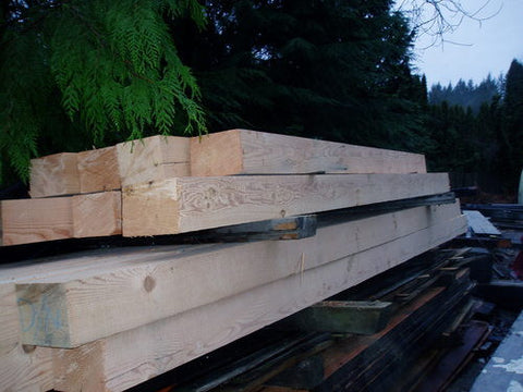 Reclaimed Douglas Fir Beam Stock