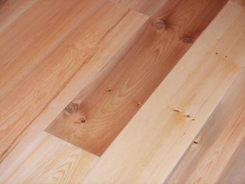 Water-Recovered Pre-Finished Solid Pine Flooring