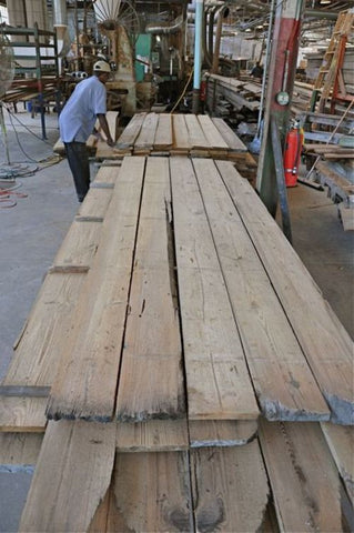 Savannah River-Recovered Georgia Heart Pine Flooring
