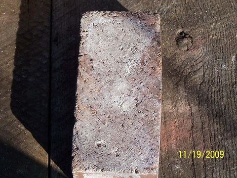 Reclaimed common size brick