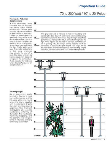 Project Cancelled: NEW Commercial Streetlight/Walkway Luminaires