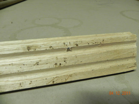 "Reclaimed White Oak 3/4"" x 2 1/4"" x 1-7' Random Length De-nailed"