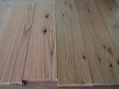 Antique Reclaimed Red and White Oak Flooring