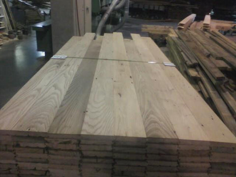 Reclaimed wood - wormy chestnut