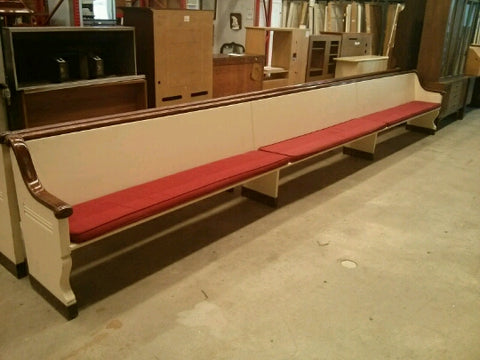 Church pews from Northampton, Mass.