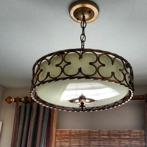Unique and Stylish Ceiling Light Fixture