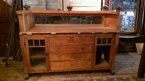 Arts and Crafts Built In Sideboard