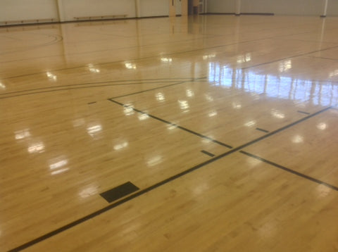 Reclaimed Gym Flooring
