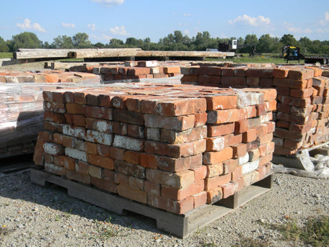 Reclaimed Soft Mortar Bricks