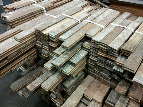 Antique Reclaimed Oak Flooring
