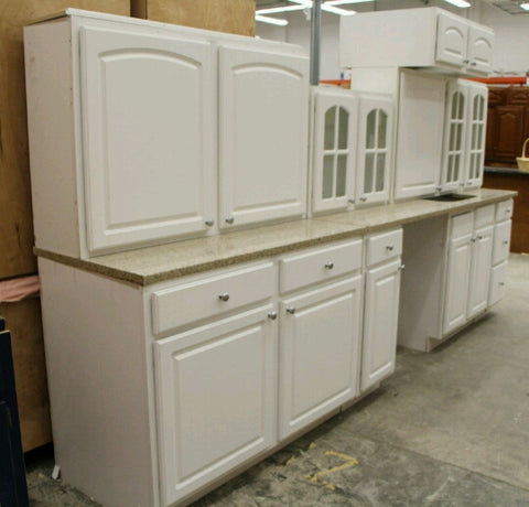 The Polar Vortex Kitchen Cabinet Set