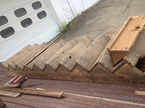 Antique Original Barn Staircase