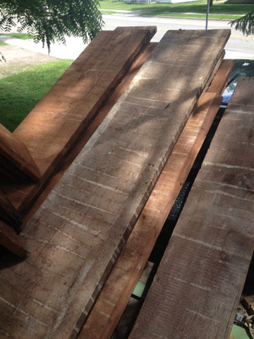 "1.5"" x 14""  Antique Hemlock planks"