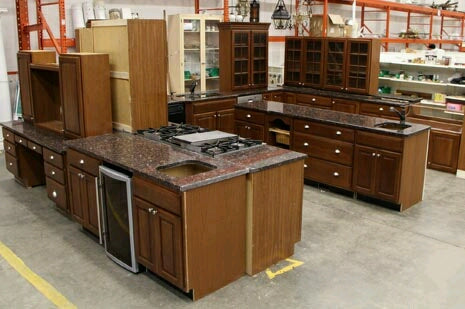 The Washington Kitchen Cabinet Set