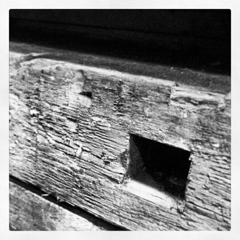 Antique Beams, Hand Cut