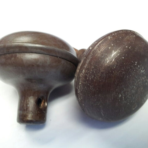 Antique Metal Door Knob Set