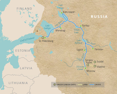 Authentic russia river cruise journey summary
