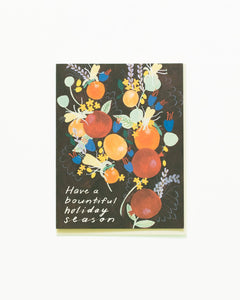 Winter Citrus Card