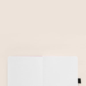 A5 Stardust Linen Dot Grid Notebook
