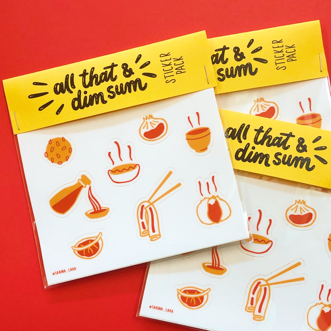 All That & Dim Sum Sticker Pack