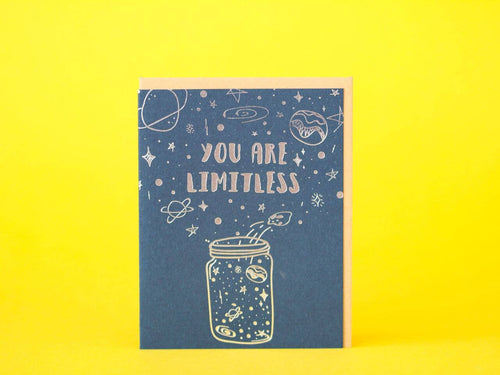 You Are Limitless Greeting Card