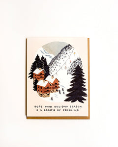 Ski Resort Card