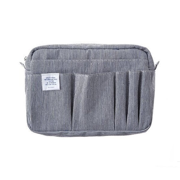 Medium Carrying Case - White Stripe