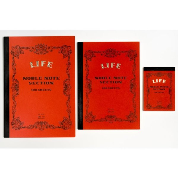 Life Noble Notebook - Section